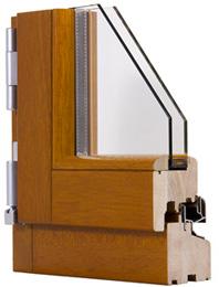 Finestra in Legno 68mm