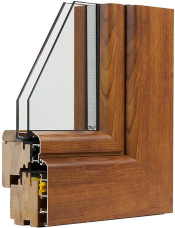 Produzione finestre in legno alluminio fam serramenti venezia - Finestre legno e alluminio ...