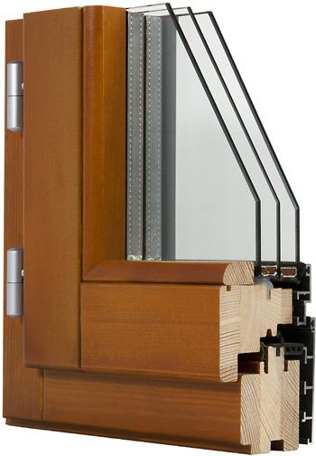 Finestra in legno alluminio t60 fam serramenti - Finestre in legno lamellare ...